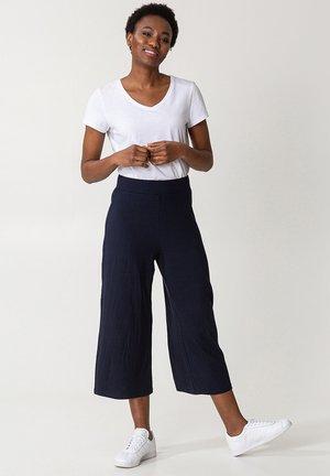 FREYA RIB - Trousers - navy