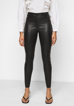 SLFURBAN STRETCH PANT - Legíny - black