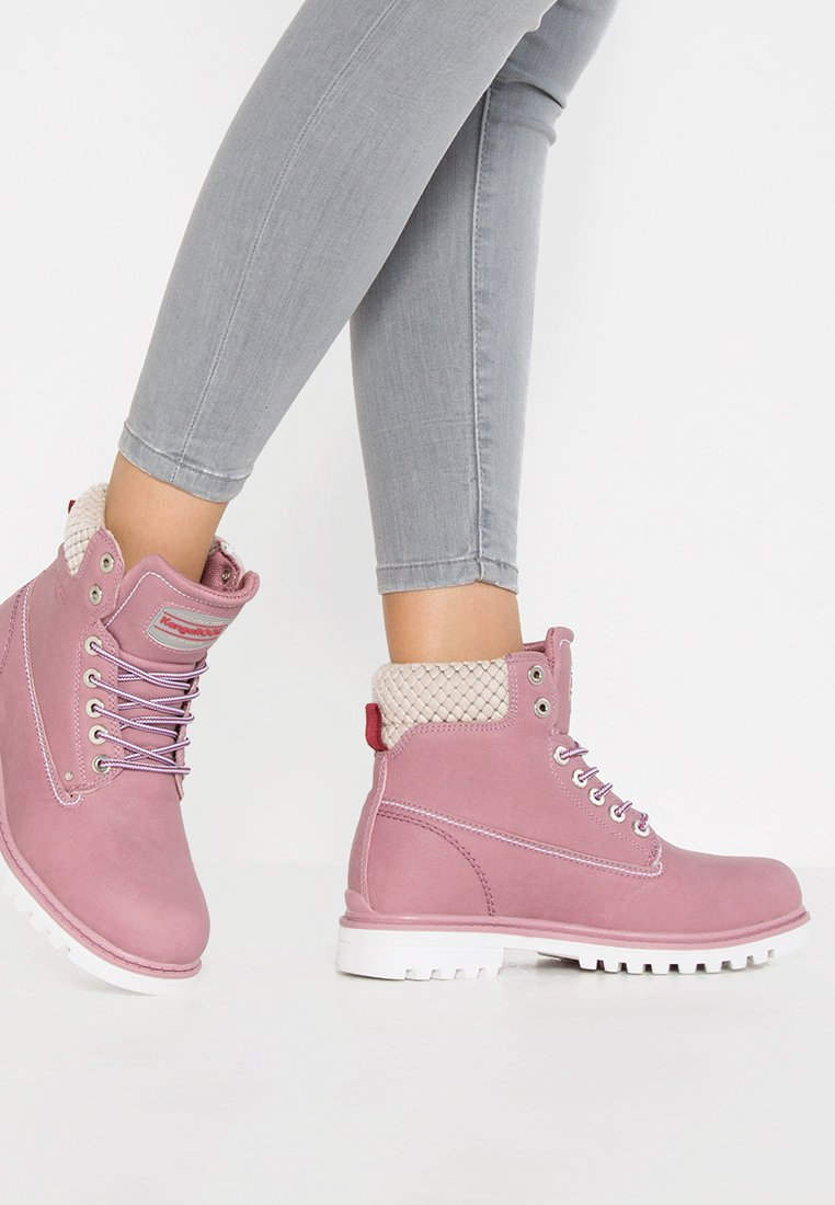 KangaROOS - RIVETER  - Lace-up ankle boots - pink
