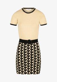 Morgan - Jumper dress - yellow - 4
