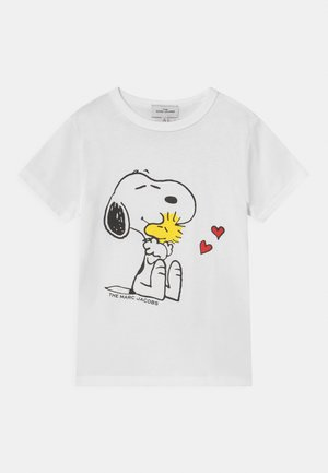 SHORT SLEEVES THE MARC JACOBS X PEANUTS - Printtipaita - white