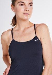 Nike Swim - CUT-OUT ONE PIECE - Swimsuit - black - 2