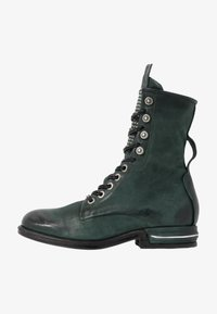 A.S.98 - Lace-up ankle boots - balsamic - 1