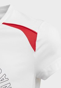 adidas Performance - BOLD AEROREADY T-SHIRT - T-shirt print - white - 3