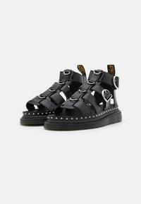 Dr. Martens - MACKAYE - Platform sandals - black buttero - 1