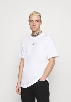 ARCHIVE - T-shirt med print - white