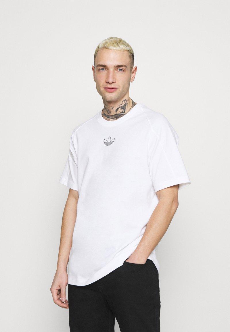 adidas Originals - ARCHIVE - T-shirt med print - white