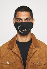 Karl Kani - SIGNATURE FACE MASK - Community mask - black - 3
