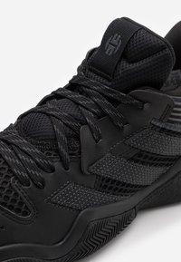 adidas Performance - HARDEN STEPBACK - Basketball shoes - black - 5