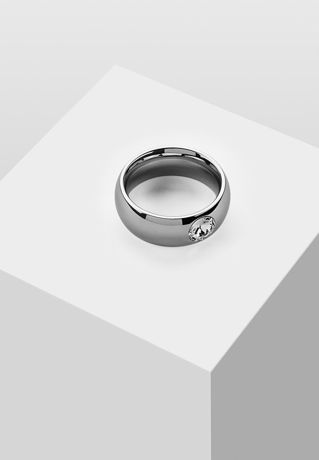 Pierścionek - silver-coloured