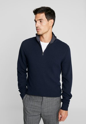 COWS - Strickpullover - navy