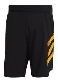 adidas Performance - Pantalón corto de deporte - black - 8