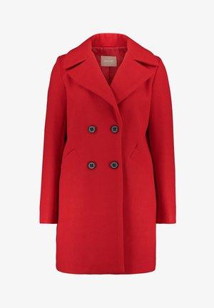 Classic coat - crimson