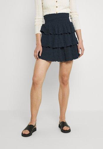 OBJANNA  - A-line skirt - sky captain