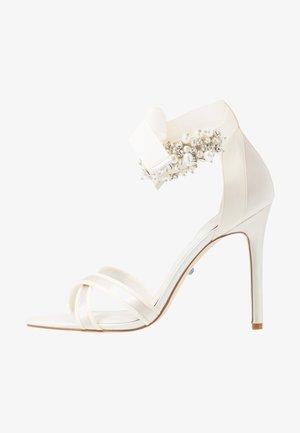 MRSS - Sandály na vysokém podpatku - ivory