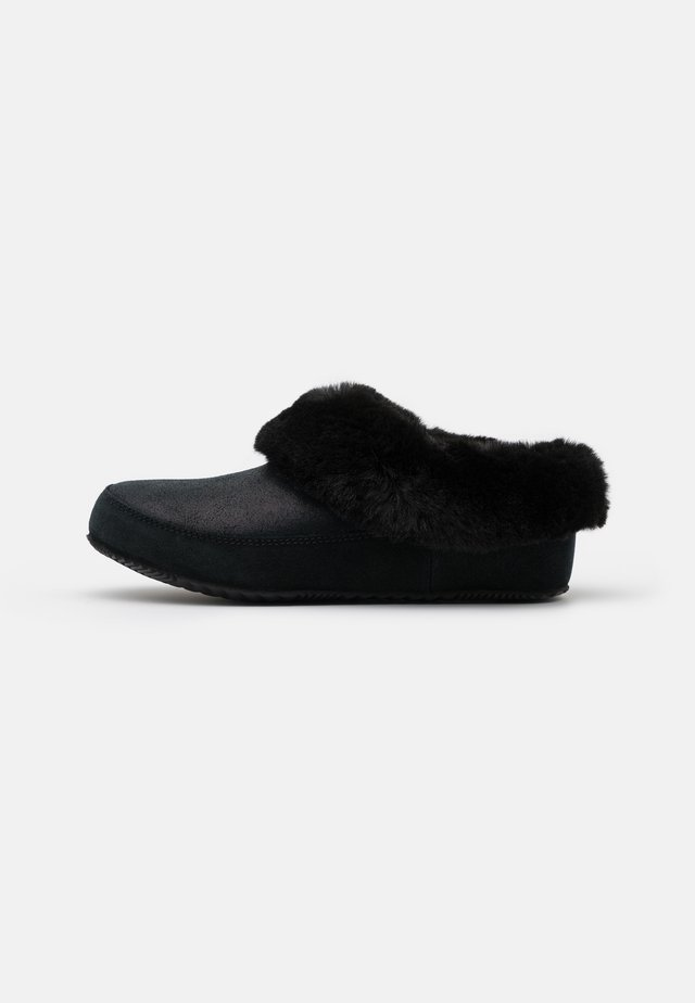 GO COFFEE RUN - Pantuflas - black