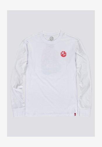 Long sleeved top - optic white