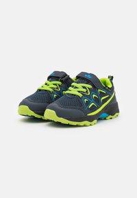 LICO - POSADAS - Touch-strap shoes - marine/blau/lemon - 1