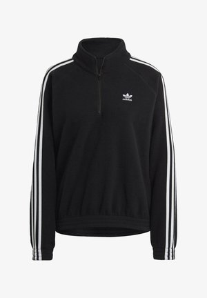FLEECE HZ - Fleece jumper - black
