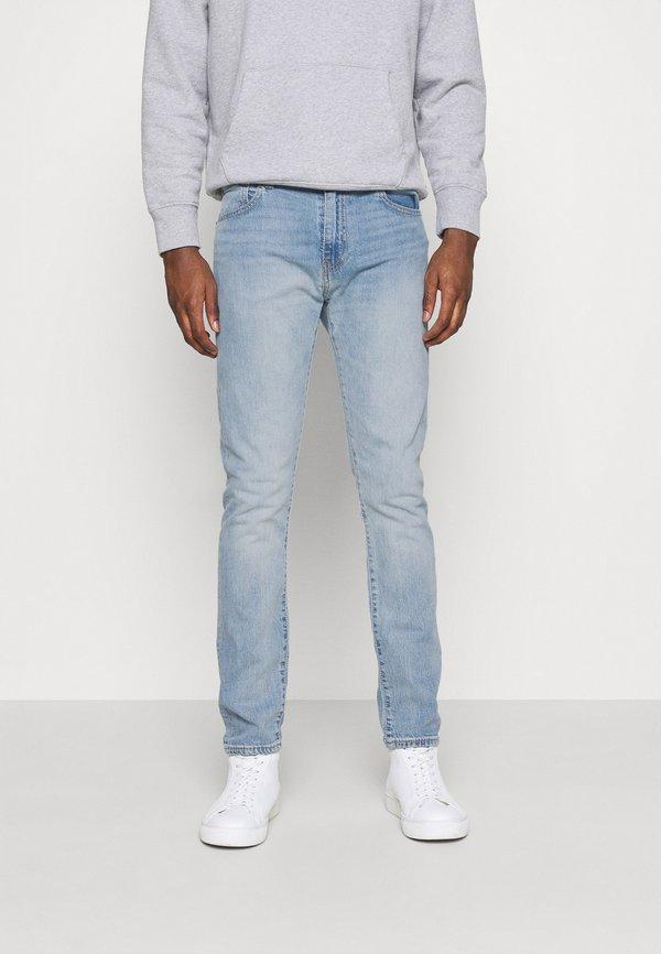 Levi's® 512™ SLIM TAPER - Jeansy Slim Fit - med indigo/jasnoniebieski Odzież Męska COEB