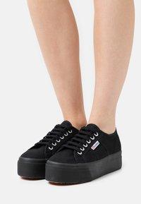Superga - 2790 UP & DOWN - Sneakers - full black - 0