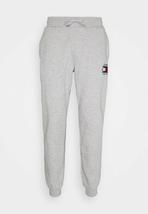 SLIM BOX FLAG PANT - Tracksuit bottoms - grey