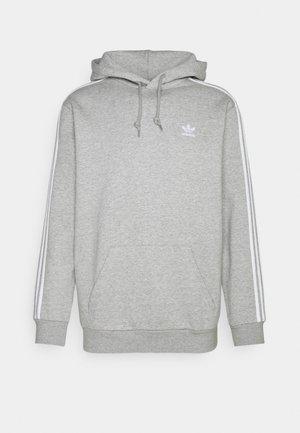 STRIPES HOODY - Hættetrøjer - medium grey heather