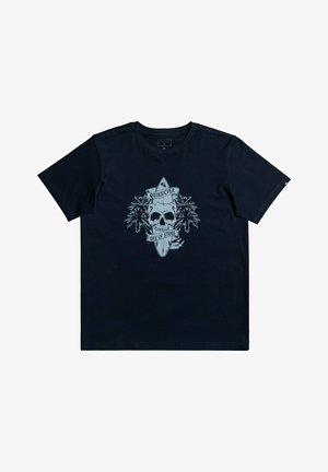 NIGHT SURFER - T-shirt print - navy blazer