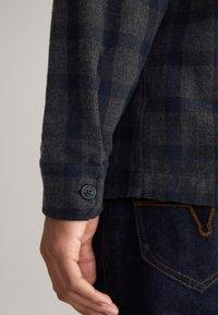 JOOP! Jeans - Shirt - navy/dunkelgrau kariert - 4