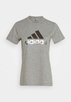 UNIVVOL TEE - Camiseta estampada - grey
