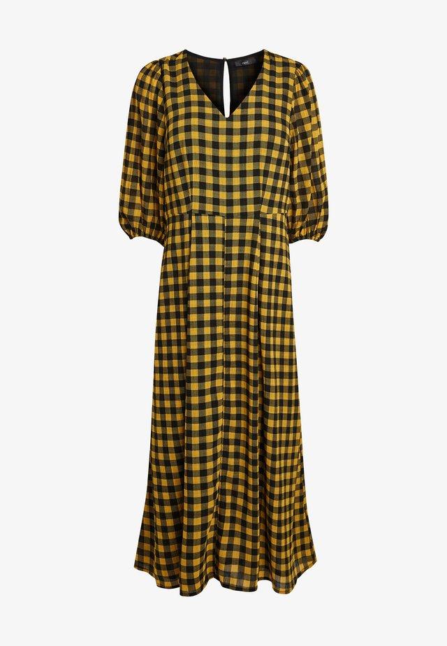 TEXTURED  - Maxi šaty - ochre
