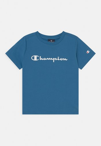 AMERICAN CLASSICS CREW NECK UNISEX - T-shirt con stampa - blue