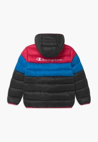 Champion - COLOR BLOCK UNISEX - Zimní bunda - black/blue/pink - 1