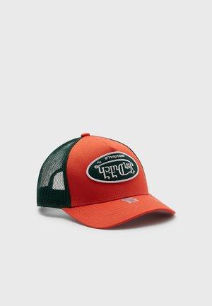 TRUCKER UNISEX - Cap - orange/green