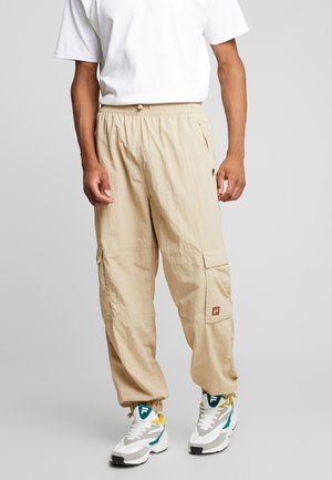 FILA FOR WEEKDAY MALEK TRACKPANTS  - Trousers - oxford tan