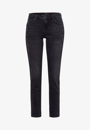 SEATTLE SLIM FIT - Slim fit jeans - black denim stone wash