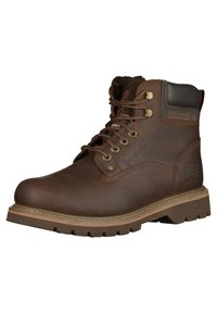 Dockers by Gerli - Lace-up ankle boots - coffee - 2