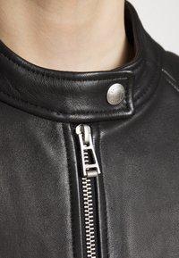Belstaff - NEW MOLLISON JACKET - Veste en cuir - black - 7