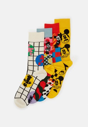 DISNEY GIFT SET 4 PACK - Chaussettes - medium yellow