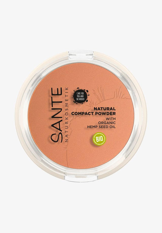 NATURAL COMPACT POWDER - Pudder - 03 warm honey