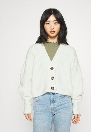 KAYLA CARDIGAN - Vest - warm white