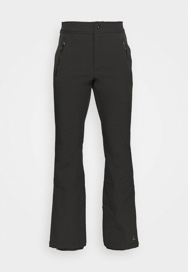 GEBBELBY - Pantalón de nieve - black gunmetal