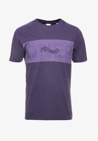 Jack & Jones - JCOPAULO TEE SLIM FIT - T-shirt med print - purple - 3