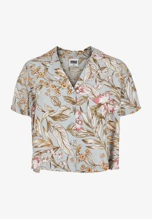 Košile - lightblue hibiscus