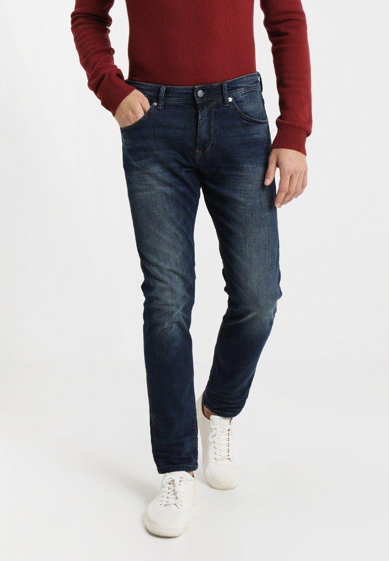 TOM TAILOR DENIM - PIERS - Slim fit jeans - dark stone wash denim