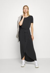Object - OBJANNIE NADIA DRESS - Maxikjole - black - 1