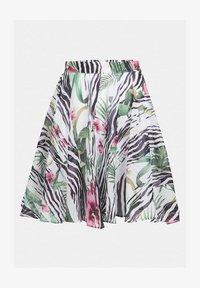 Guess - JUWAN SKIRT - Spódnica trapezowa - gemustert multicolor - 3
