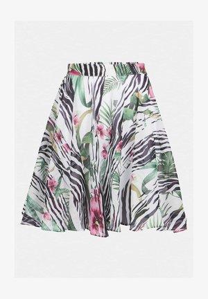 JUWAN SKIRT - Spódnica trapezowa - gemustert multicolor