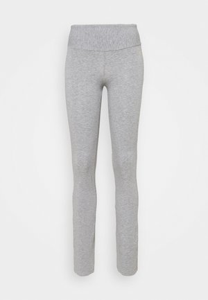FIT PANTS - Leggings - grey melange