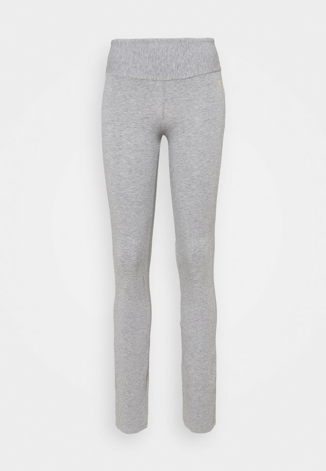 FIT PANTS - Tights - grey melange